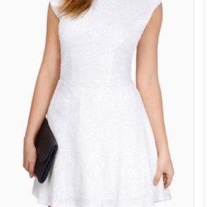 Sequin White Tobi Dress